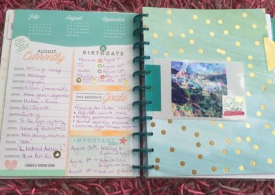 Me & My Big Ideas Planner Design 2