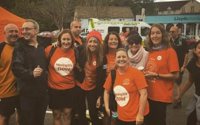 The Five Valleys Walk 2016 for Meningitis Now